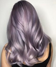 Coloration Lila argentée